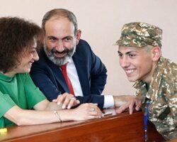 Сын армянского премьера снова в Арцахе