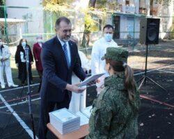 Медики МО РФ награждены благодарственными письмами в Абхазии