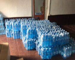 Сухумские депутаты передали пациентам мобильного госпиталя питьевую воду