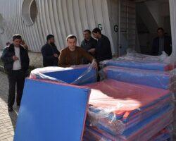 Абхазия получила в подарок татами и борцовские ковры от Сочи и Карелина