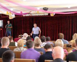Дневная хроника: президент Бибилов встретился с общественностью