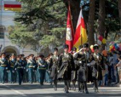 Военнослужащие МО Абхазии впервые станут участниками парада в Цхинвале