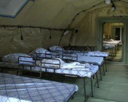 Мобильный многопрофильный госпиталь Минобороны РФ прибыл в Абхазию