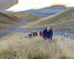 Югоосетинские альпинисты водрузили знамя на «Хъаедласаен»