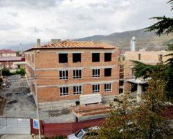 Строительство школы в Цхинвале идет с опережением  графика