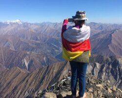 Альпинисты РЮО взошли на Священную гору