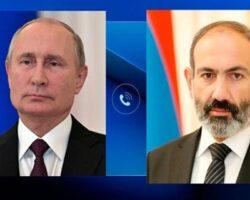 Путин еще раз обсудил ситуацию в Карабахе с главой Армении