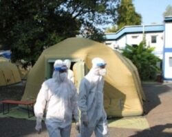 Российские военные медики приняли на лечение в госпиталь в Абхазии более 150 пациентов