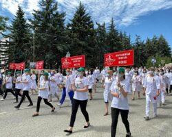 На Ставрополье появится портрет врача из «тысяч благодарностей граждан»