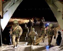 В Карабахе уже развернут российский миротворческий контингент