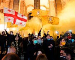 Грузинская оппозиция назвала условие начала работы в парламенте