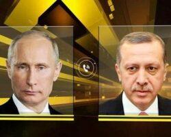 Главы РФ и Турции провели телефонный разговор