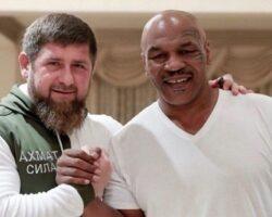 Кадыров предложил «брату» Тайсону провести следующий бой в Чечне