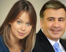 У Саакашвили роман с депутатом из «Слуги народа»