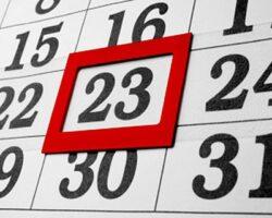 Жители РЮО получат выходной в понедельник