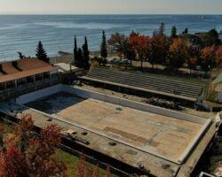 Руководитель «Аквастройинвест» сообщил о ходе реконструкции Сухумского бассейна