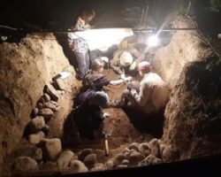 В Цхинвале обнаружено древнее захоронение