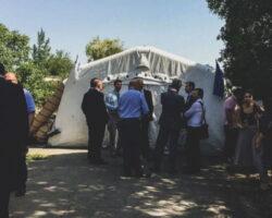 Делегации Ю.Осетии и Грузии встретились на границе