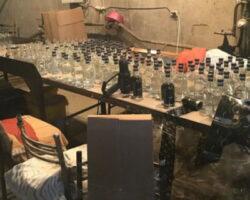 В Осетии ликвидировано нелегальное производство алкоголя